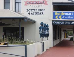 Opportunity to buy the freehold & business of Albie's Bar & Bistro in Busselton