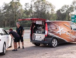 Coffee anyone? We'll bring it to you! Xpresso Mobile Cafe >> JOIN US!
