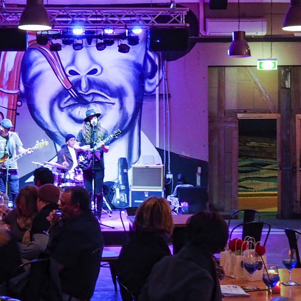 Chamber Bar / Restaurant / Cafe & Live Music Venue