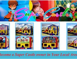SUPER CASTLES (JUMPING CASTLES) BUSINESS  WORK 2-3 DAYS P.W. WITH HIGH EARNINGS