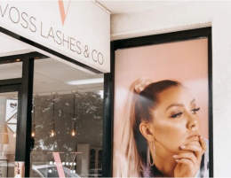 VOSS LASHES  SUCCESSFUL BUSINESS  LARGE CLIENTELE  REPEAT BUSINESS