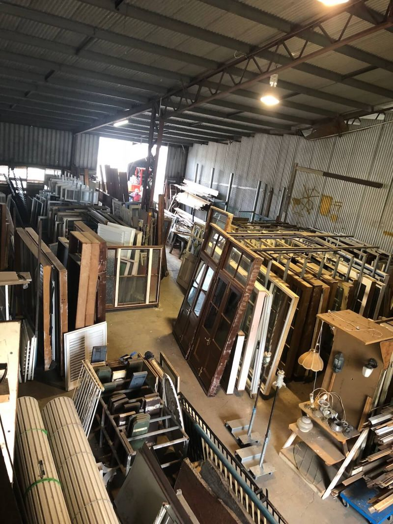 DEMOLITION / SALVAGE YARD INCLUDING RECYCLED/SECONDHAND BUILDING PRODUCTS