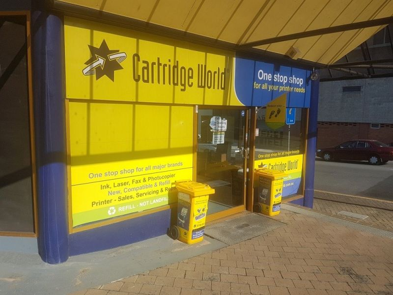 CARTRIDGE WORLD IPSWICH  ONE OF THE LARGEST TERRITORIES FOR THIS FRANCHISE