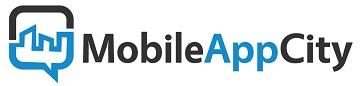 Mobile App City Logo