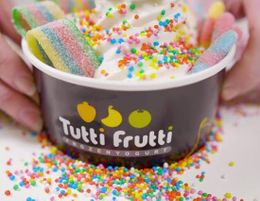 Tutti Frutti Famous Frozen Yogurt Franchise Business   Brisbane QLD